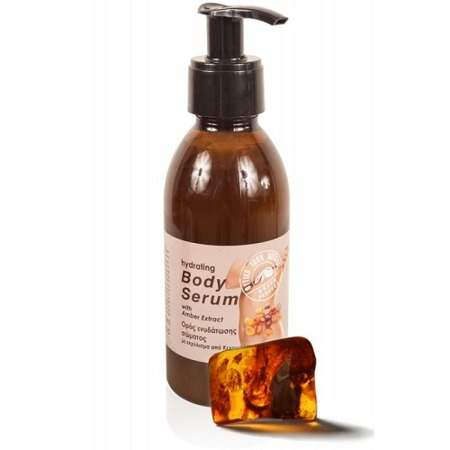 BIOAROMA deep hydrating body serum with amber 100% natural 200ml