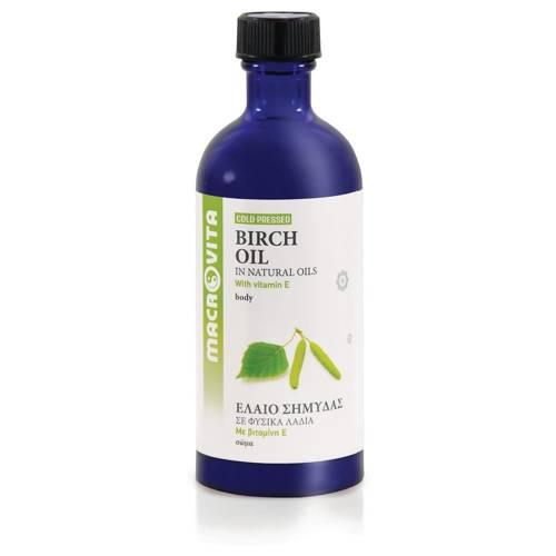 MACROVITA BIRCH OIL in natural oils with vitamin E 100ml