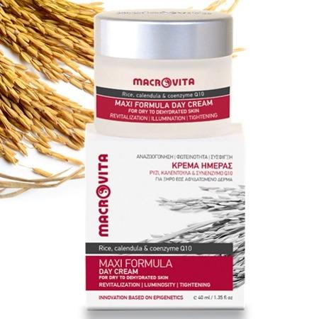 MACROVITA MAXI FORMULA natural day cream for dry to dehydrated skin 40ml