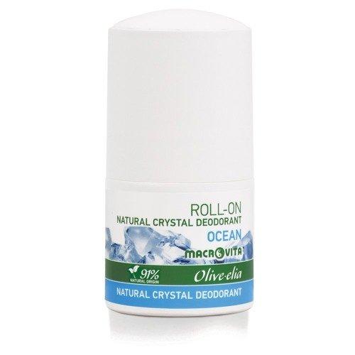 MACROVITA OLIVE-ELIA NATURAL CRYSTAL DEODORANT ROLL-ON OCEAN 50ml