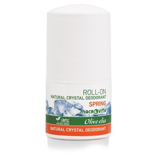 MACROVITA OLIVE-ELIA NATURAL CRYSTAL DEODORANT ROLL-ON SPRING 50ml
