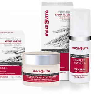 MACROVITA ACTIVE SET: Tagescreme für normale und Mischhaut 40ml + Augencreme 30ml