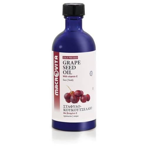 MACROVITA BIO-WEINTRAUBEKERNÖL in natürlichen Ölen with vitamin E 100ml