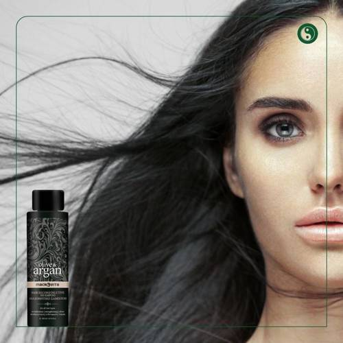 MACROVITA ARGAN & OLIVE regenerujący szampon z olejkiem arganowym 200ml