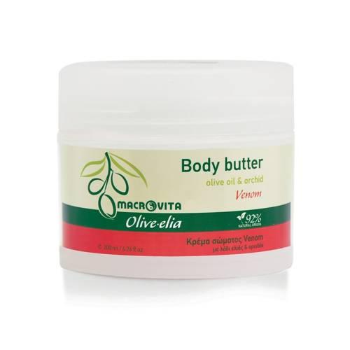 MACROVITA OLIVE-ELIA VENOM masło do ciała z bio-oliwą i ekstraktem z orchidei 3ml (próbka)