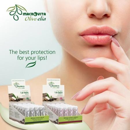 MACROVITA OLIVE-ELIA pomadka do ust z bio-składnikami NATURAL 4g