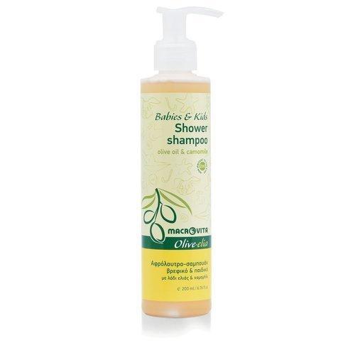 MACROVITA OLIVE-ELIA szampon i płyn do kąpieli dla dzieci z bio-składnikami 200ml